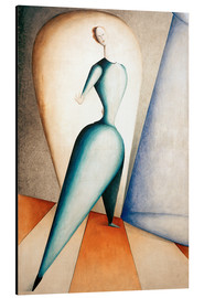 Aluminium print  The Dancer - Oskar Schlemmer