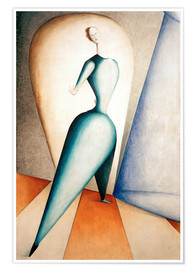 Premium poster  The Dancer - Oskar Schlemmer