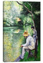 Canvas print  Angler - Gustave Caillebotte
