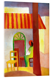 Acrylic print  Turkish Cafe I - August Macke