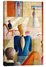 Canvas print  Womens School - Oskar Schlemmer
