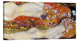 Canvas  Water serpents II - Gustav Klimt
