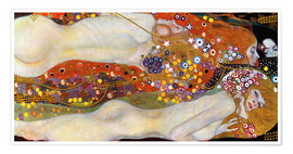 Poster  Water serpents II - Gustav Klimt