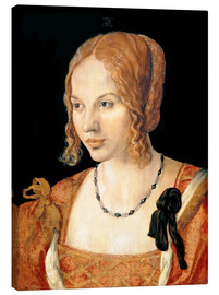 Canvas print  Young Venetian Woman - Albrecht Dürer
