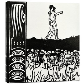 Canvas print  In front of the people - Ernst Ludwig Kirchner