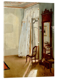 Acrylic print  The Balcony Room - Adolph von Menzel
