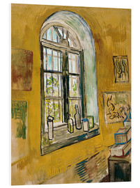 Foam board print  Window in the Studio - Vincent van Gogh
