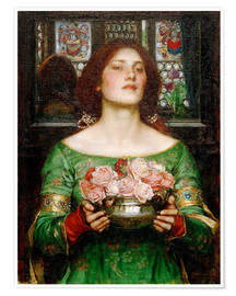 Poster Gather Rosebuds While May