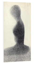 Georges Seurat - Young woman (study)