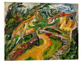 Forex  Landscape with ascending road - Chaim Soutine