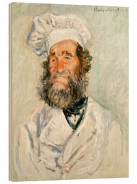 Wood  The chef - Claude Monet