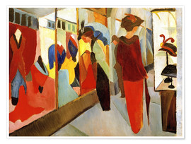 Poster  Fashion Store - August Macke