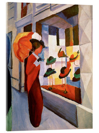 Acrylic print  Hat Shop - August Macke