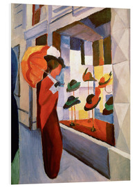 Foam board print  Hat Shop - August Macke