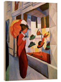 Wood  Hat Shop - August Macke