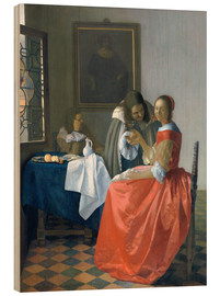 Jan Vermeer - The Girl with the Wine Glass