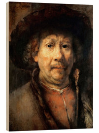 Rembrandt van Rijn - Rembrandt, the small self-portrait