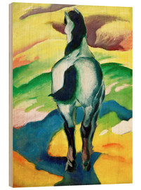 Wood print  Blue Horse II - Franz Marc