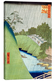 Canvas print  Seido and River Kanda seen from the Shohei Bridge - Utagawa Hiroshige
