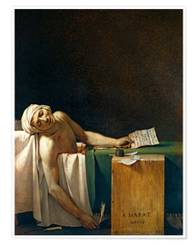 Premium poster The Death of Marat