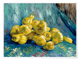 Premium poster  Still Life with Quinces - Vincent van Gogh