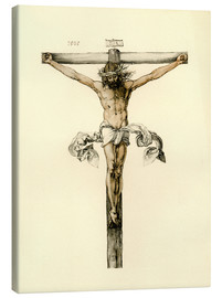 Canvas print  Christ on Cross - Albrecht Dürer