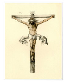 Premium poster Christ on Cross