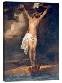 Canvas print  Christ on the Cross - Anthonis van Dyck