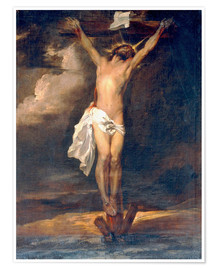 Premium poster Christ on the Cross