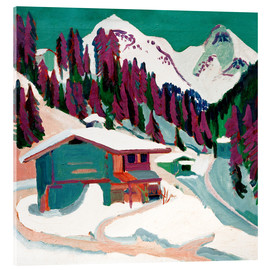 Acrylic print  Wild ground in the snow - Ernst Ludwig Kirchner