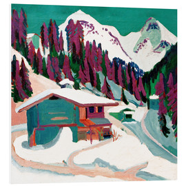 Forex  Game floor in the snow - Ernst Ludwig Kirchner