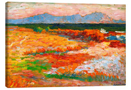Canvas print  Mediterranean Sea at Marseille - Alexej von Jawlensky