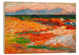 Wood  Mediterranean Sea at Marseille - Alexej von Jawlensky