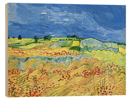 Wood  Fields with Blooming Poppies - Vincent van Gogh