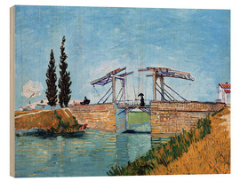 Wood  The drawbridge in Arles - Vincent van Gogh