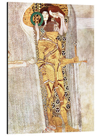 Alu-Dibond  The Knight - Gustav Klimt