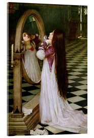 Acrylic print  Mariana in the South - John William Waterhouse