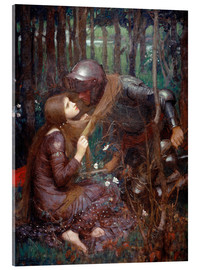 Acrylic print  La Belle Dame sans Merci - John William Waterhouse