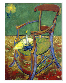 Poster Gauguin's Chair