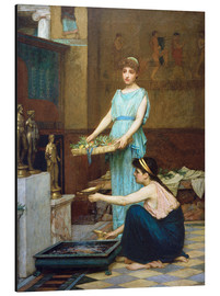 Aluminium print  Household Gods - John William Waterhouse