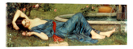 Acrylic print  Sweet Summer - John William Waterhouse