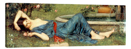 Canvas print  Sweet Summer - John William Waterhouse