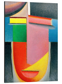 Aluminium print  Abstract Head: Autumn - Alexej von Jawlensky