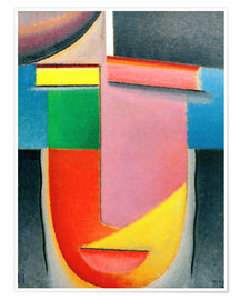 Premium poster  Abstract Head: Autumn - Alexej von Jawlensky