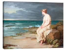 Canvas print  Miranda - John William Waterhouse