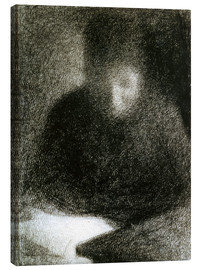Canvas print  Reading woman - Georges Seurat