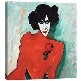 Canvas print  The dancer, Alexander Sakharov - Alexej von Jawlensky