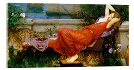 Acrylic glass  Ariadne - John William Waterhouse