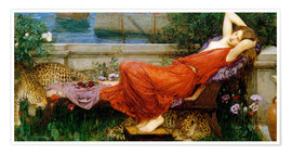 Premium poster  Ariadne - John William Waterhouse