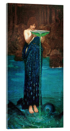 Acrylic glass  Circe Invidiosa - John William Waterhouse